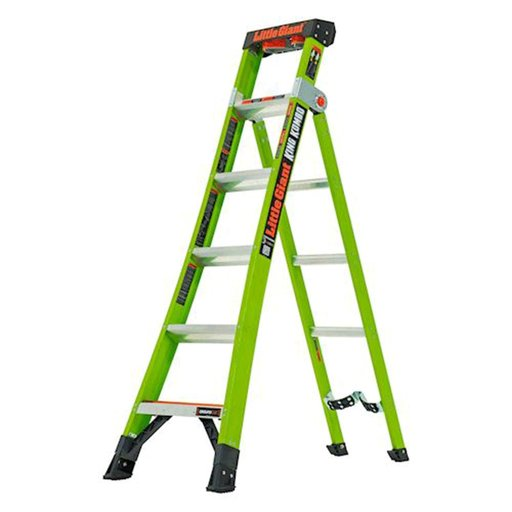 View a Larger Image of King Kombo Professional 6', 3-In-1 Combination Ladder