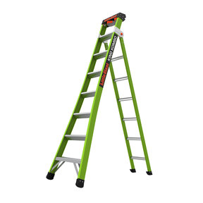 King Kombo Professional 8', 3-In-1 Combination Ladder