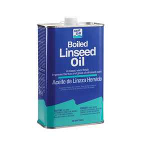 Oil Linseed Boiled Quart