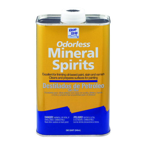 View a Larger Image of Solvent Mineral Spirits Quart