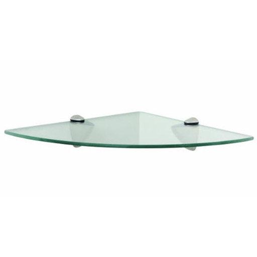 """View a Larger Image of Knape & Vogt 12"""" x 12"""" Corner Glass Shelf Kit"""