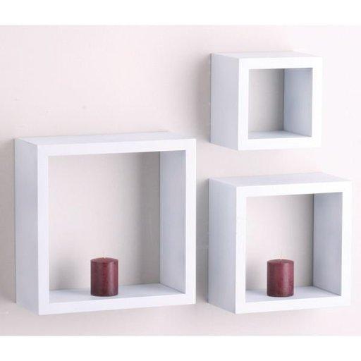 """View a Larger Image of Knape & Vogt 3-Piece Shadow Box Set, 4"""" Deep, Black Finish"""