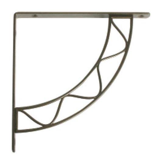 View a Larger Image of Knape & Vogt Stockton Designer Shelf Bracket, Antique Bronze Finish