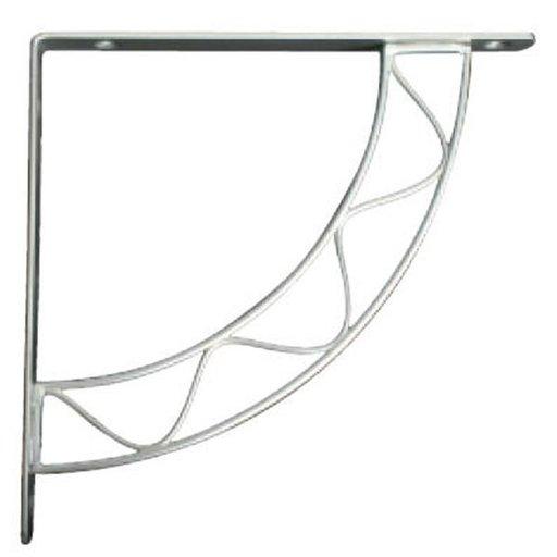 View a Larger Image of Knape & Vogt Stockton Designer Shelf Bracket, Satin Nickel Finish