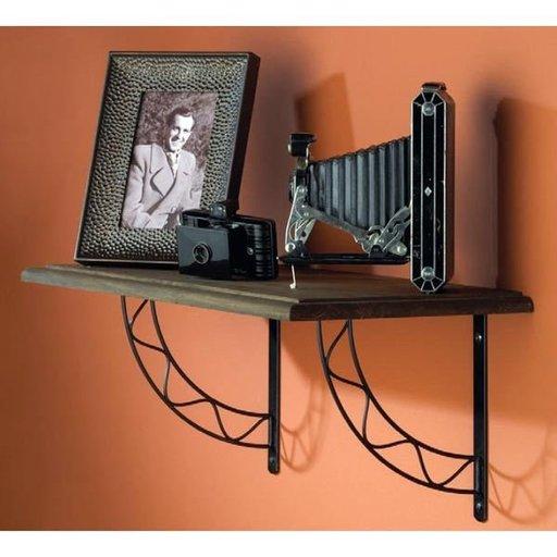View a Larger Image of Knape & Vogt Stockton Designer Shelf Bracket, White Finish