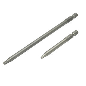 """3"""" Length And 6"""" Length #2 Square Driver Bits"""