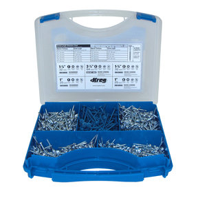 Assorted Pocket-Hole Screw Kit