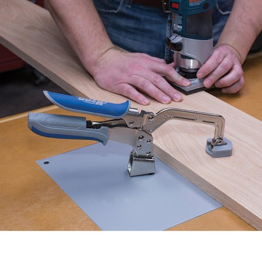 """View a Larger Image of 3"""" Automaxx Heavy-Duty Bench Clamp System"""