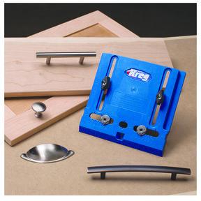 Cabinet Hardware Drilling Jig