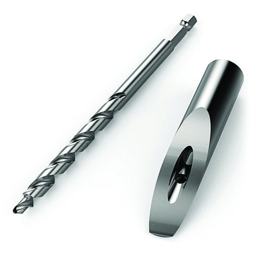 View a Larger Image of Micro Pocket Drill Bit And Bushing Accessory For Foreman DB210