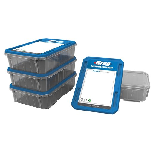 View a Larger Image of Large Hardware Container 4-Pack,  # KSS-L