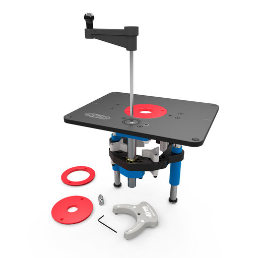View a Larger Image of Precision Router Lift PRS5000