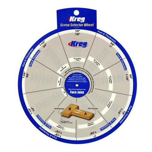 View a Larger Image of Screw Selector Setting Wheel, # SSW