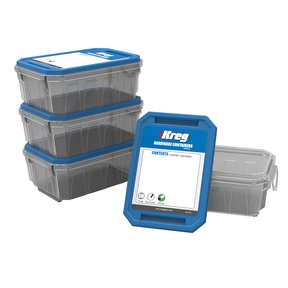 Small Hardware Container 4-Pack,  # KSS-S