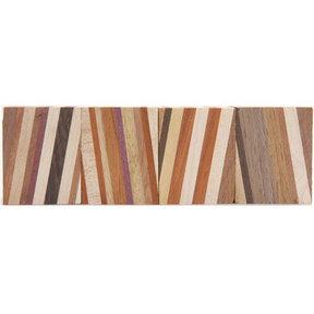 "Laminated Hardwood Pack - 1-1/4"" x 1-1/4"" x 1-7/8"" - 4 Piece"
