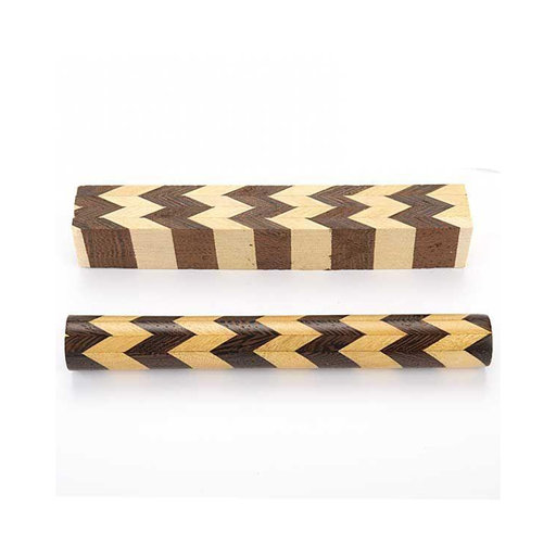 View a Larger Image of Laminated Wood Pen Blank  39