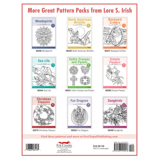View a Larger Image of Landscapes Carving Patterns Pack
