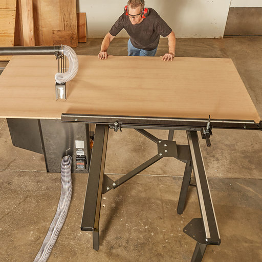 View a Larger Image of Large Sliding Table