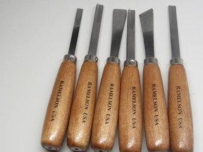 Large Woodcarving Gouge & Chisel Set