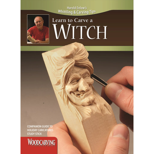 View a Larger Image of Learn to Carve a Witch Booklet