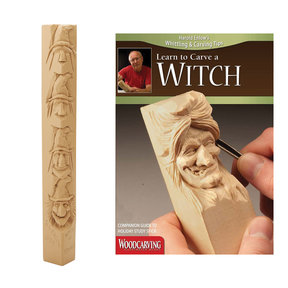 Learn to Carve a Witch Study Stick