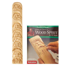 Learn to Carve a Wood Spirit- Study Stick