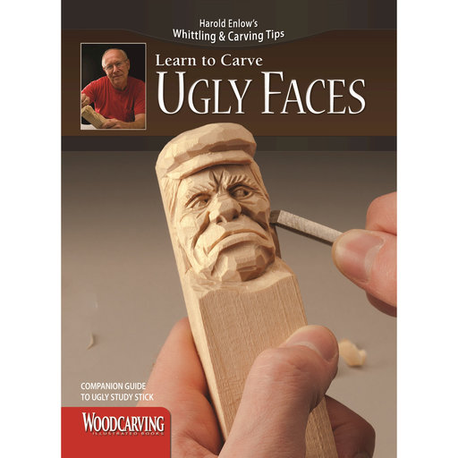 View a Larger Image of Learn to Carve Ugly Faces Booklet
