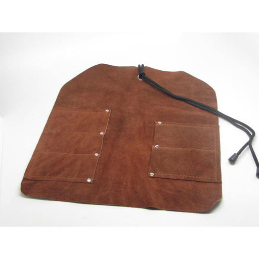 View a Larger Image of Leather Tool Roll 5 pocket