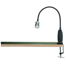 LED Shop Light with Magnetic Base and Clamp