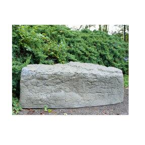 Left Triangle Landscaping Rock, Oak/Armor Stone
