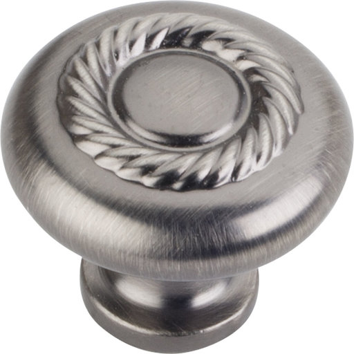 """View a Larger Image of Lenoir Knob, 1-1/4"""" Dia.,  Brushed Pewter"""