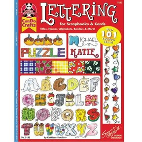 Lettering 101 - for Scrapbooks & Cards