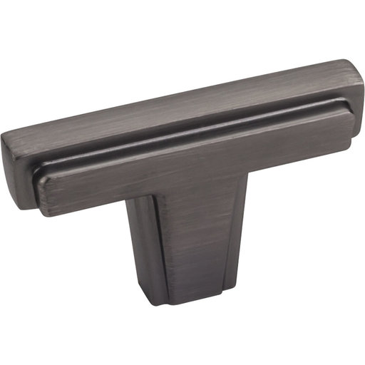 """View a Larger Image of Lexa Knob, 2"""" O.L., Brushed Pewter"""