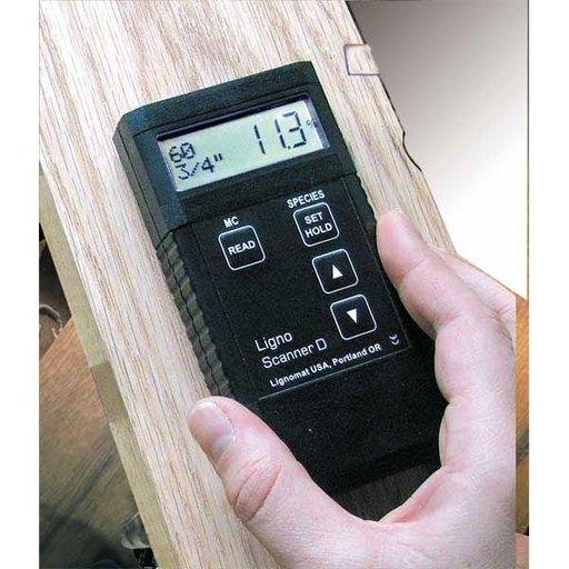 View a Larger Image of Ligno-Scanner D Moisture Meter