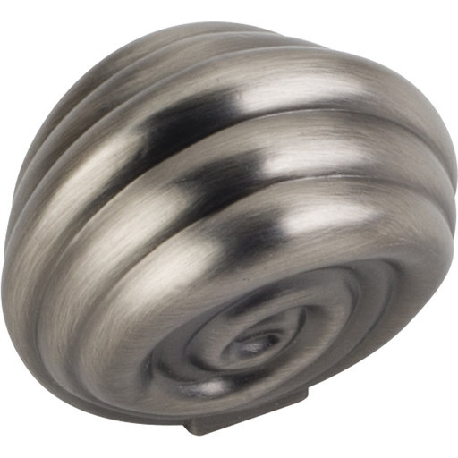 """View a Larger Image of Lille Knob, 1-3/8"""" O.L., Brushed Pewter"""