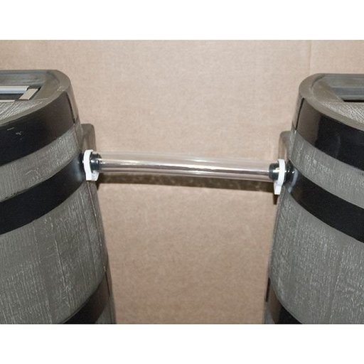 View a Larger Image of Link Kit for 50 gallon Rain Barrels with Flat Back
