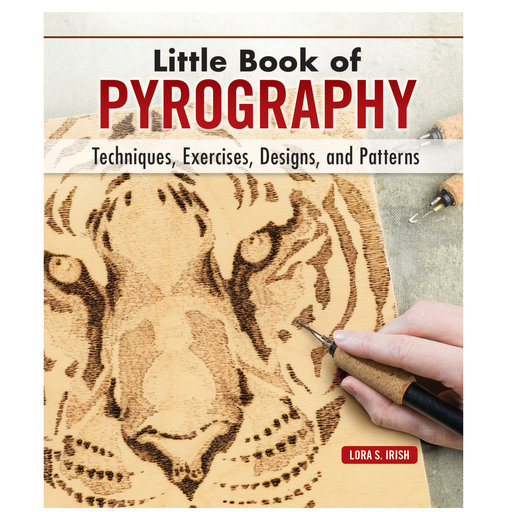 View a Larger Image of Little Book of Pyrography