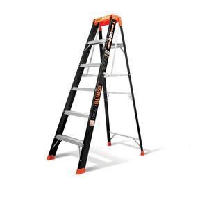 MicroBurst Fiberglass Ladder 6'