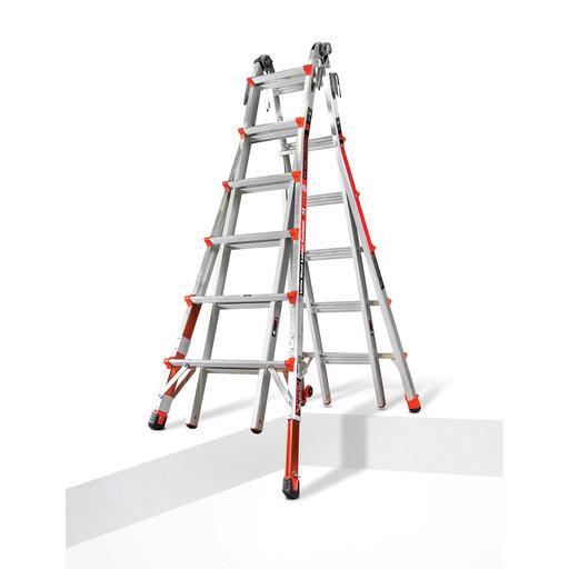 View a Larger Image of Revolution Ladder 26' with Built-In Ratchet Leveler Option