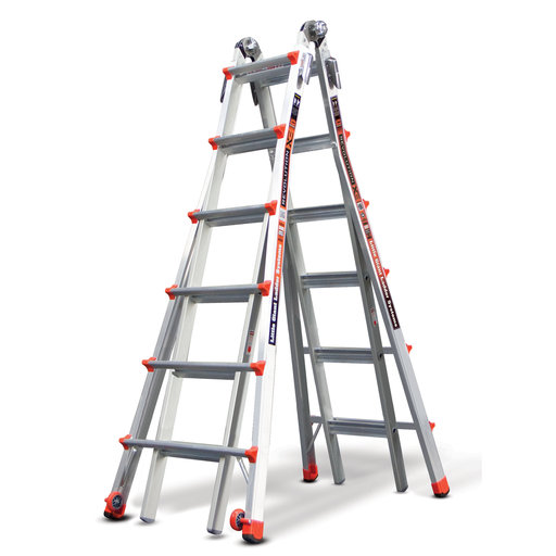 View a Larger Image of Revolution Ladder 26' Without Ratchet Leveler Option