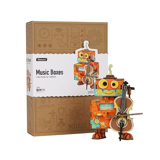 View a Larger Image of Little Performer Music Box Kit