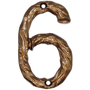 Log House Number Six Lux Bronze