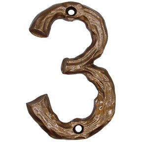 Log House Number Three Lux Bronze