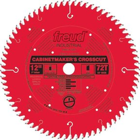 "LU73R012 Cabinetmaker's Crosscut Saw Blade 12"" x 1"" bore x 72 Tooth Hi-ATB"