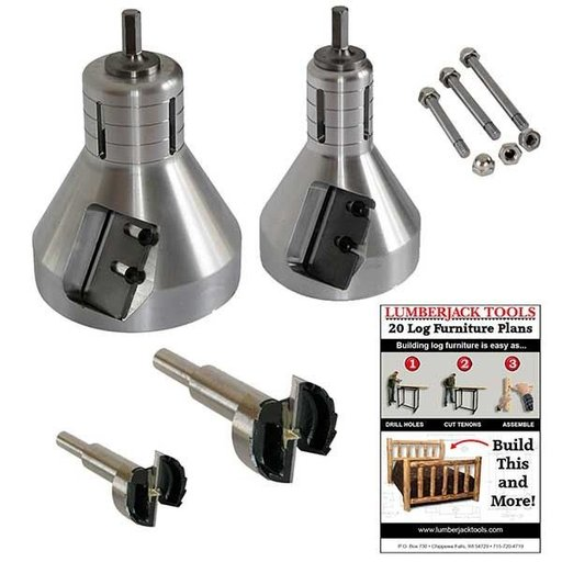 View a Larger Image of Industrial Series Starter Tenon Cutter Kit