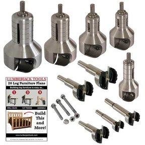 Pro Series Professional Tenon Cutter Kit