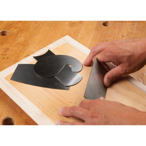 View a Larger Image of 4pc Curved Scraper Set