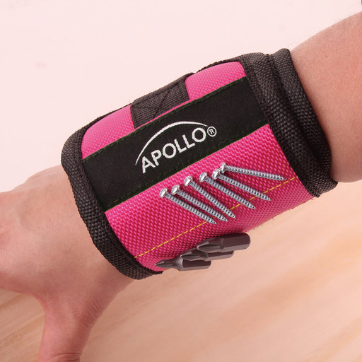 View a Larger Image of Magnetic Wrist Band-Pink