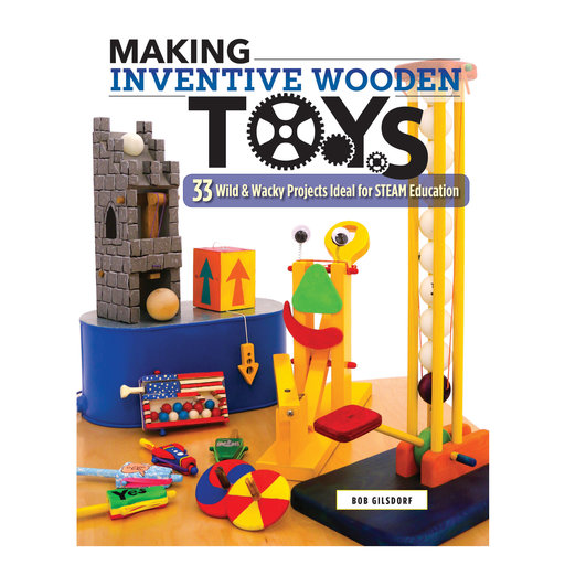 View a Larger Image of Making Inventive Wood Toys