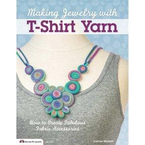 Making Jewelry with T-Shirt Yarn